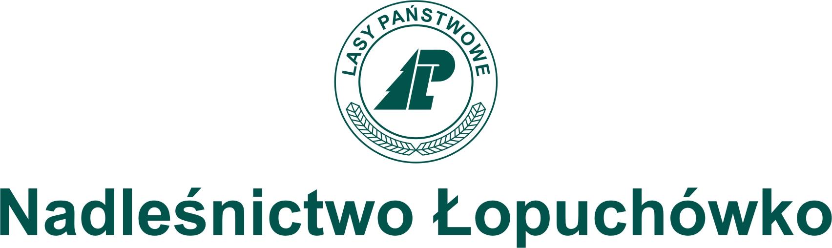 Logo+LP+Nadlesnictwo+Łopuchówko_pion